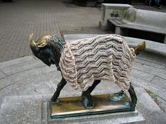 The Rittenhouse Park Goat