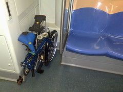 Folding bikes on MRT and buses trial begins