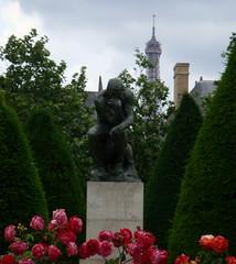 """Thinker"" by A.Rodin"