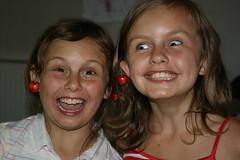 Cherry earrings! (Hoola Tallulah) Tags: cherryearrings cherriescherryfruit