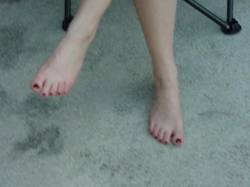 My wifes pretty feet
