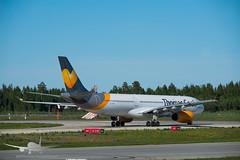 Thomas Cook - OY-VKG - A330-300 (Aviation & Maritime) Tags: oyvkg thomascook thomascookscandinavia airbus a330 a330300 airbus330 airbus330300 osl engm osloairportgardermoen oslolufthavngardermoen osloairport gardermoen norway