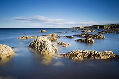 Distant Souter (Chris Lishman) Tags: uk longexposure sea lighthouse seascape canon coast rocks coastal lee manfrotto marsden souterlighthouse lishman leefilters bigstopper canon1dmkiv chrislishman welcomeuk