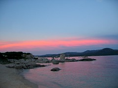 Plage de San Giuvanni à Caldarello en baie de Figari