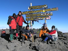 On top of Africa (orangeant) Tags: kilimanjaro tanzania ant anthony anth gfo