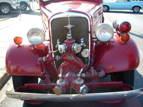 Front of 1936 Chevrolet Fire Truck - SL730858