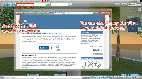 OnRez Second Life viewer and CSI:NY in SL - iAlja's blog