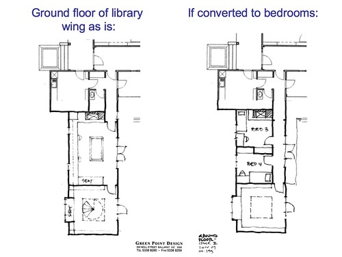 library wing redesign (ground floor)