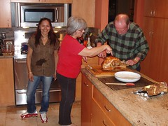 Be Sure You Carve This First! (walknrun) Tags: thanksgiving family feast preparations