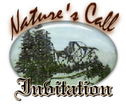 Nature's Call Invitation