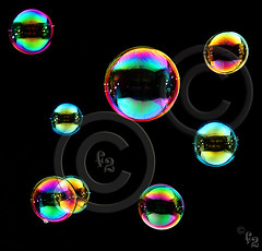 Bubbles (Day 22 - Alternative) (F-2) Tags: light digital photoshop canon studio colours flash bubbles tent 5d dslr reflexions lighttent 580ex manfrotto damncool goldenglobe 333views vob lifeasiseeit 100faves 35faves mywinners anawesomeshot aplusphoto superbmasterpiece diamondclassphotographer flickrdiamond ysplix theunforgettablepictures 75faves eliteimages platinumheartaward artlegacy theperfectphotographer goldstaraward excapturemacro bestminimalshot 055cb professionaltripod