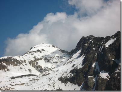 La vetta del Monte Matto