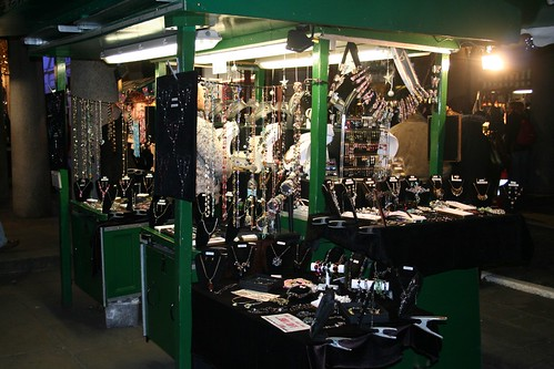 London - Covent Garden Jewellery Stall 2