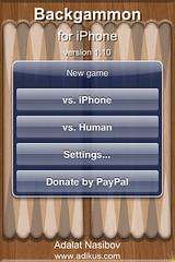Backgammon Update 1.10