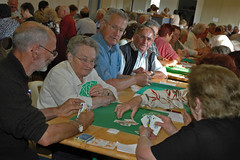 Playing cards (iveka19) Tags: cup club contest elderly concours coupe socit corrze cartes jeux ruralit tapisvert ains srilhac