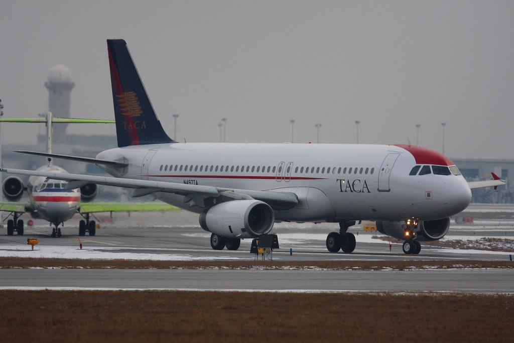 TACA Delivery Flight