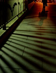 Going home (tanakawho) Tags: road city light shadow people urban man silhouette night dark dof nightshot pavement streetphotography yokohama 2on2featurepair tanakawho anawesomeshot aplusphoto superbmasterpiece flickrchallengegroup placetwtme ispytwtme 2on2featurepairoftheweekfebruary2008 afterclass291
