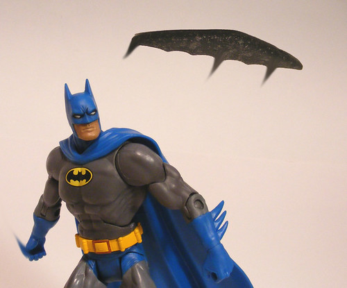 Batarang in Flight
