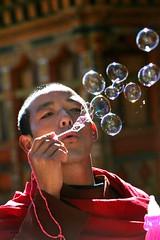 Bhutan: prayer bubbles