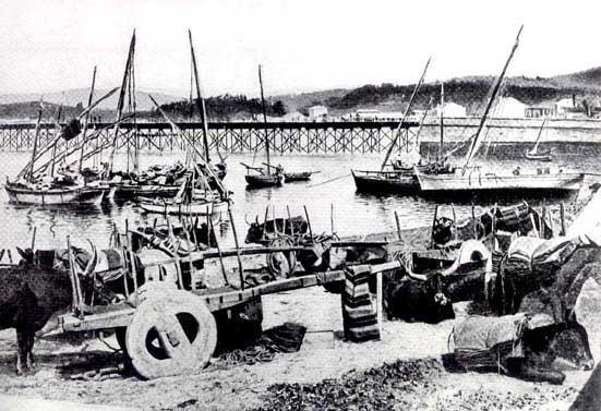 El muelle de hierro. Años 20.