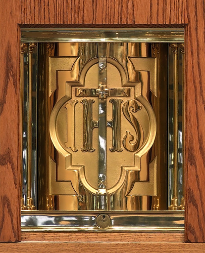 Saint Rose of Lima Roman Catholic Church, in De Soto, Missouri, USA - tabernacle