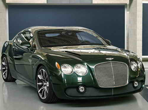 Bentley Continental GTZ Zagato Car