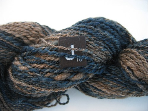 Indigo Dyed Black BFL
