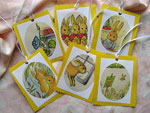 Bunny Rabbit Easter or Baby Shower Gift Tags<p>Four different sets of 6 available