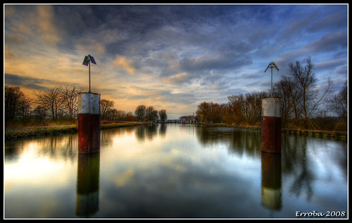 Leuvensevaart Lock (2) by Erroba, on Flickr