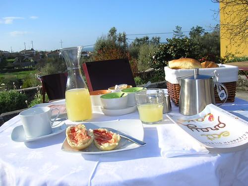 Breakfast at Quinta de Boa Viagem