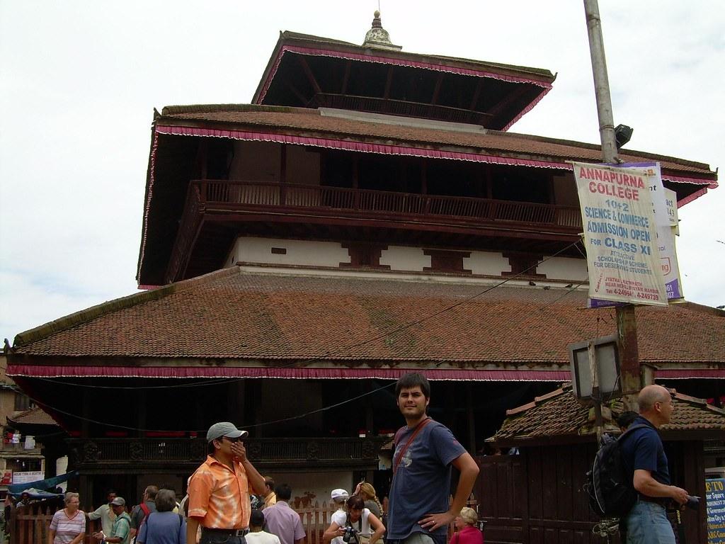 Pau en la Kathmandu Durbar Square