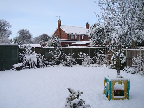 Easter Monday Snow