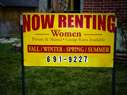 Now renting Woman