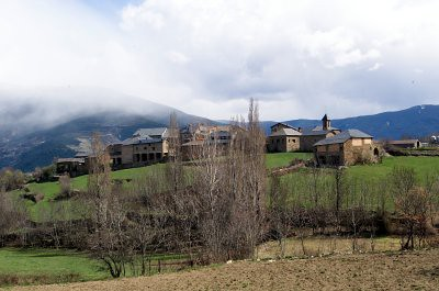 El pueblo de Pujalt (Pallars Sobira)