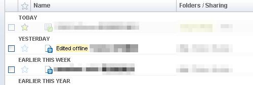 Google Docs in Offline