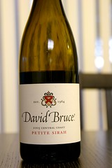 2005 David Bruce Central Coast Petite Sirah