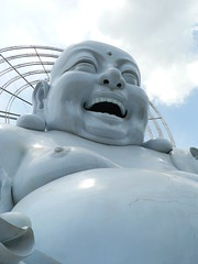 Big Laughing Buddha in Dalat