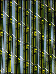 Verdure ( CHRISTIAN ) Tags: color green window glass lines architecture montral geometry montreal vert explore greenery gomtrie couleur verdure fenetre lignes vitre gwim bestofr institutdetourismeetdhtellerieduqubec
