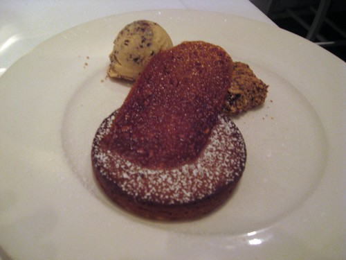 "Vie, Chicago, Warm Caramel ""Gooey"" Butter Cake"