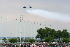 U.S. Navy Blue Angels (xhtmled) Tags: navy usna blueangels navalacademy fa18hornet