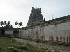 Outer Praharam - Right side - View from Back