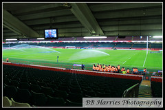 Wales vs England Rugby Day (BB Harries Photography) Tags: rugbypitch sprinkler tv seats marshall stewards steward stand field pitch walesvsengland rugby wales southwales cardiffcity cardiffcitycentre cardiff principalitystadium millenniumstadium