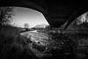 Devon and Dumyat - 03 - 14 Feb 2017.jpg (ibriphotos) Tags: dumyat ochilhills riverdevon bridge menstrieroad bnw clackmannanshire monomonochromatic ndgrad achromatic blackandwhite menstrie nd4