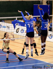 Big Block (Danny VB) Tags: volleyball carabins udem ulaval usports rseq canon 6d dannyboy winter gym university women
