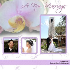 A New Marriage (Design with Photos)