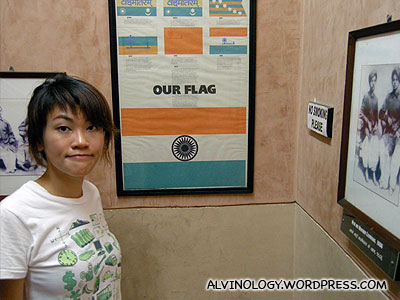 How the India flag design came about