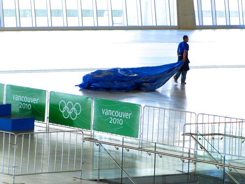 Richmond Oval post-2010 Olympics renovation - what will be left behind?