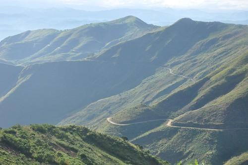 Climbing towards Bukavu