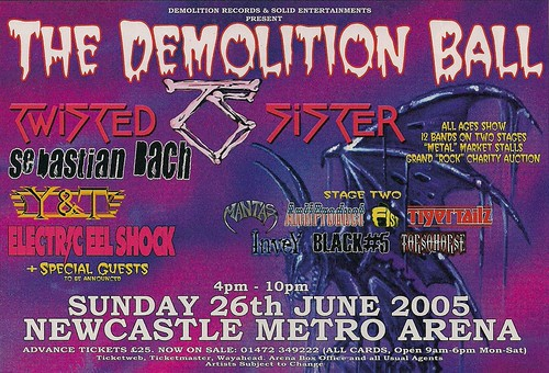 06-26-05 Demolition Ball @ Newcastle, England