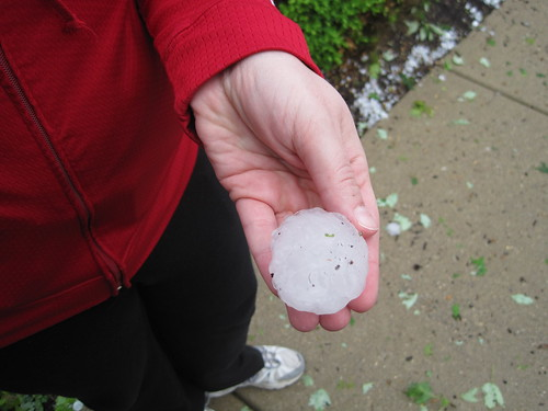 giant hail ball